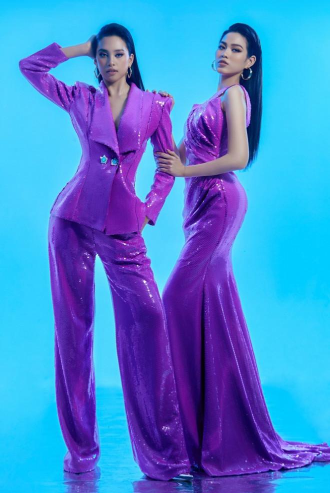 Hoa hậu Tiểu Vy - Đỗ Hà lần đầu đọ sắc trong một khung hình thời trang, thần thái cực đỉnh - 6