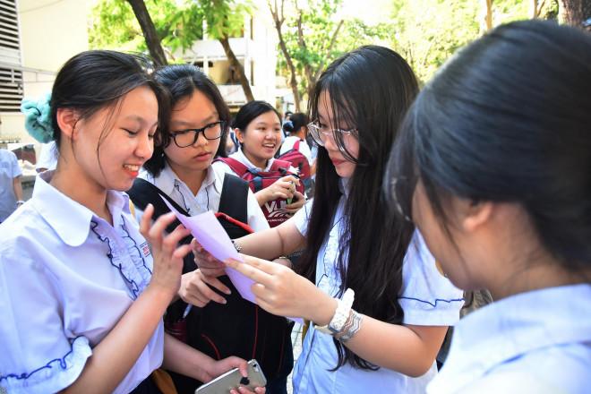 TP HCM giảm dần chỉ tiêu tuyển sinh lớp 10 - 1