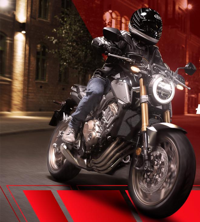 Honda tung loạt môtô phân khối lớn CB650R, CB500X và Rebel 500 - 1