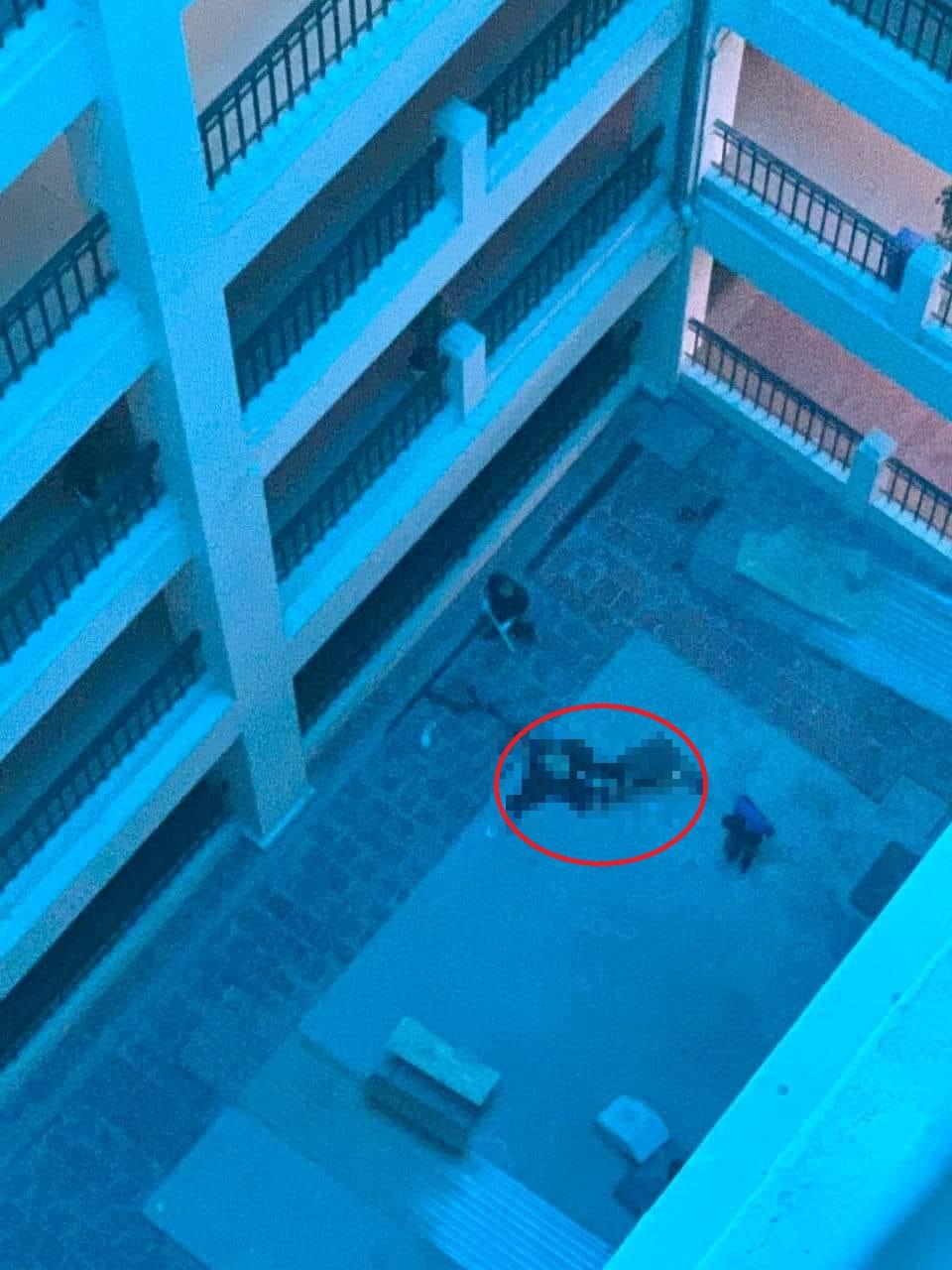 Nam thanh niên tử vong khi rơi từ tầng cao trường Đại học Công nghiệp Hà Nội - 1
