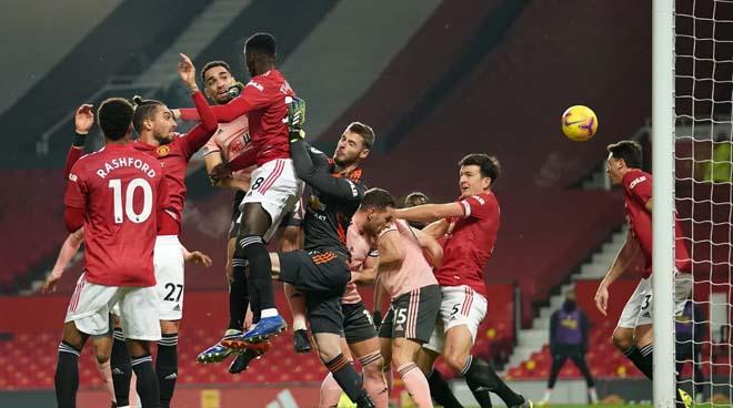 """Trực tiếp bóng đá MU - Sheffield United: """"Quỷ đỏ"""" bất lực, thất bại gây sốc (Hết giờ) - 10"""