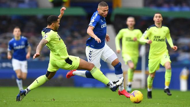 Video Everton - Newcastle: Phản đòn sắc lẹm, kết liễu phút bù giờ - 1