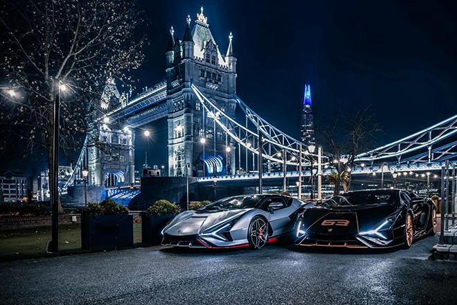 Bộ đôi siêu phẩm triệu đô Lamborghini Sian cập bến Anh Quốc - 1