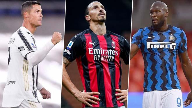 "Vua phá lưới Serie A: Lukaku khiến 2 ""anh già"" Ronaldo - Ibra ôm hận ra sao? - 1"