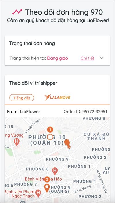 Đặt hoa online giao siêu tốc 45 phút lần đầu xuất hiện tại Việt Nam - 1