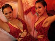 Nữ MC nóng bỏng nhất nhì showbiz Việt  gợi cảm trong bộ ảnh đón Tết