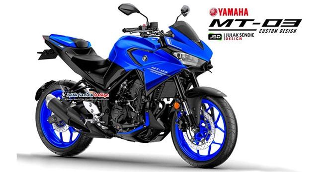 """Yamaha MT-03 Tracer: """"Ngựa ô"""" mới của làng adventure - 1"""