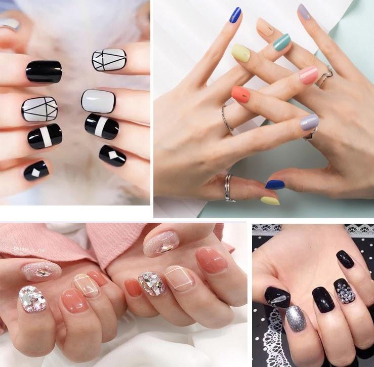 35 Mẫu sơn móng tay đẹp hot nhất mang lại vẻ đẹp sang trọng nhẹ nhàng - 1
