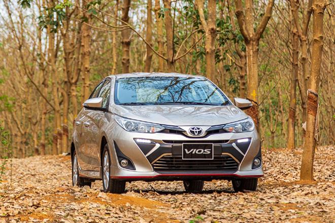 Giá xe Toyota Vios lăn bánh tháng 2/2021 - 1