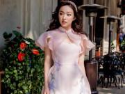 10 mẫu áo dài Xuân tay cách điệu mặc ngay Tết này thì xinh miễn bàn!