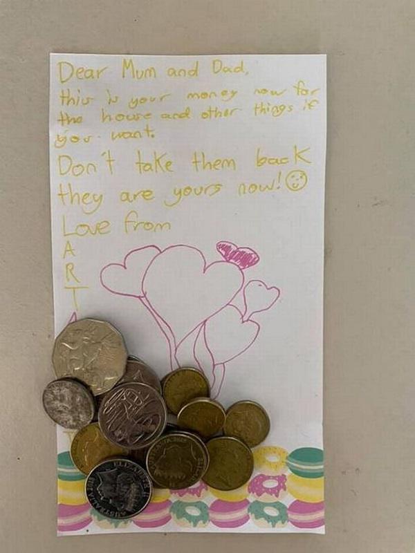 Bố mẹ lao đao vì không mua được nhà, con gái 10 tuổi viết 1 bức thư, tình thế xoay chuyển tức khắc - 1