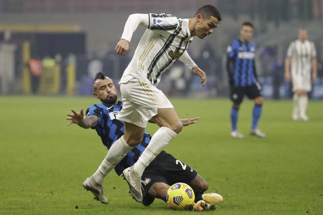 Video Inter Milan - Juventus: Ronaldo rực sáng, định đoạt trong 45 phút - 1