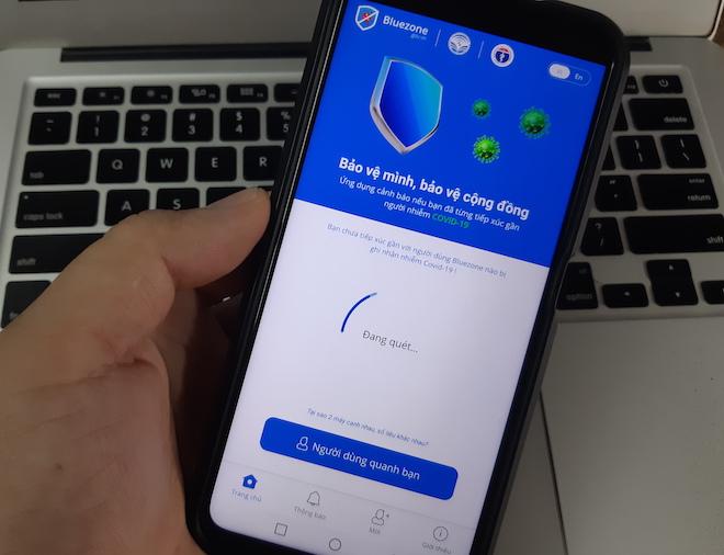 """Mỗi giờ, có thêm đến 40.000 lượt tải ứng dụng """"khẩu trang điện tử"""" Bluezone - 1"""