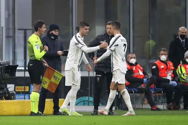 Ronaldo cau có sau trận Juventus thắng Inter, HLV Pirlo đáp trả gắt - 1