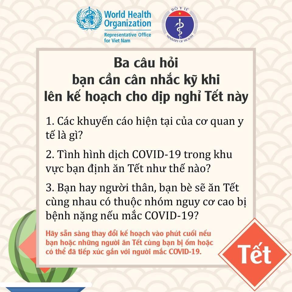 Tết đang đến gần, làm thế nào để an toàn trong đại dịch COVID-19? - 3