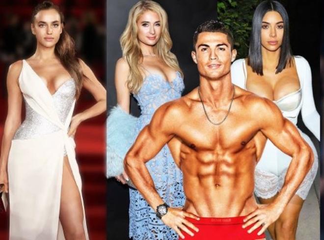 Ronaldo cặp kè toàn mỹ nhân siêu giàu, kiếm tiền gấp 90 lần bạn gái hot girl hiện tại - 1