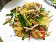 Mực khô xào dứa, món ăn lai rai vừa để nhậu vừa chống ngán ngày Tết cực ngon
