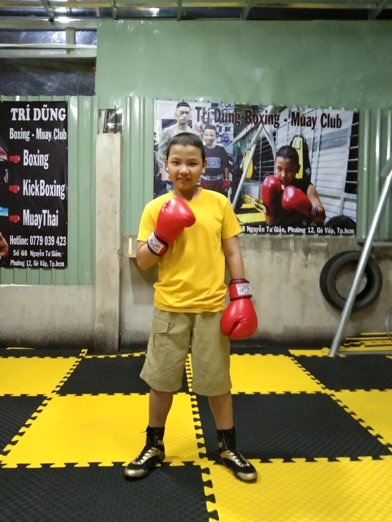 Xót xa câu chuyện võ sĩ boxing nhí mắc bệnh ung thư - 1