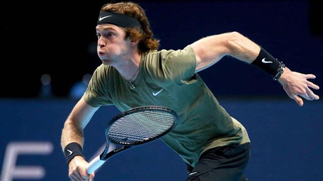 Chung kết ATP Cup: Rublev hủy diệt Fognini,Nga thắng Italia - 1