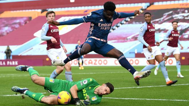 Video Aston Villa - Arsenal: Bắn phá liên hồi, sai lầm khó sửa - 1