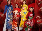 Mỹ nhân Hoa hậu Hoàn vũ mang không khí xuân về trước thềm Tết Tân Sửu 2021