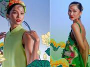 H'Hen Niê hóa mỹ nhân tranh Đông Hồ trong bộ ảnh Tết đặc biệt