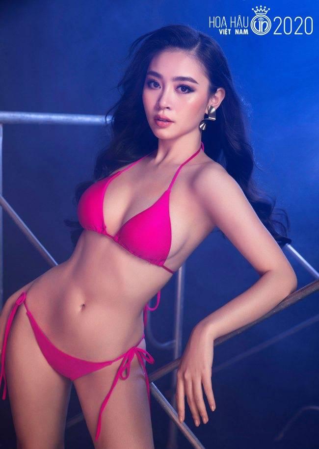 Nguyễn Thị Diệu Linh đến từ Hải Phòng là một trong những thí sinh hoa hậu gây ấn tượng với người hâm mộ.