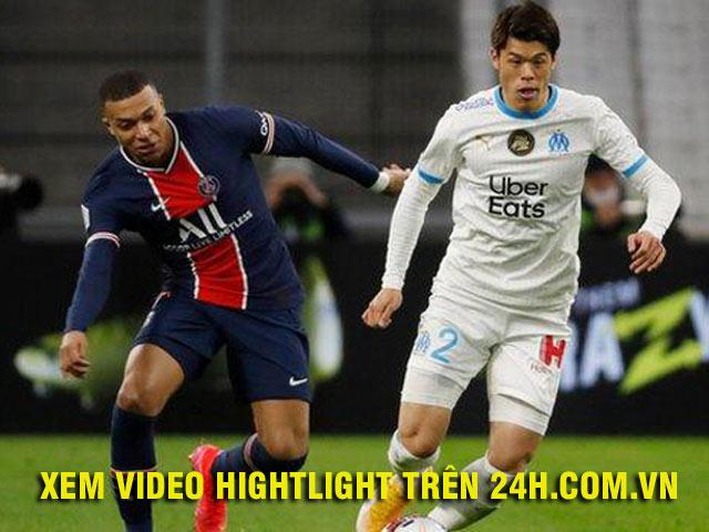Video Marseille - PSG: Mbappe ghi bàn thần tốc, thẻ đỏ phút 90