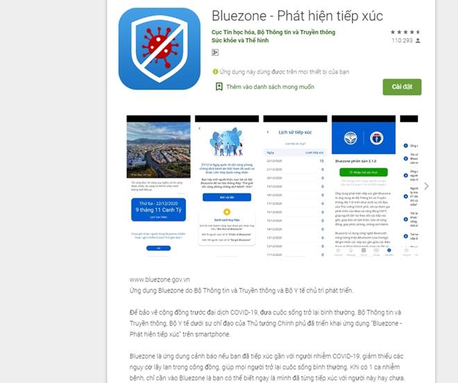 Hướng dẫn cài đặt ứng dụng Bluezone truy vết COVID-19 - 1