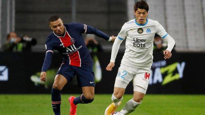 Video Marseille - PSG: Mbappe ghi bàn thần tốc, thẻ đỏ phút 90 - 1