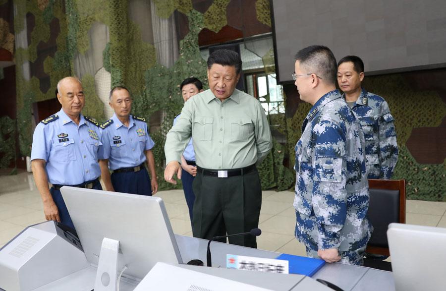 Ông Tập yêu cầu quân đội TQ nâng cao năng lực chiến đấu trong dịp Tết Nguyên đán - 1