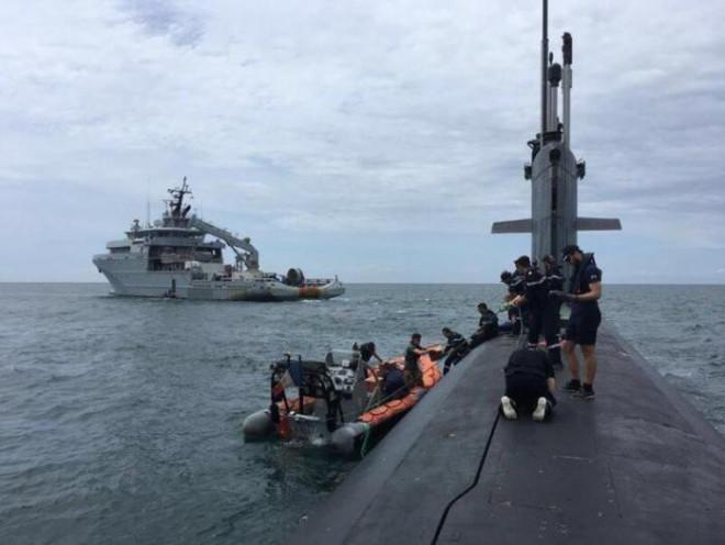 Pháp tuyên bố đã điều tàu ngầm hạt nhân tấn công tuần tra Biển Đông - 1