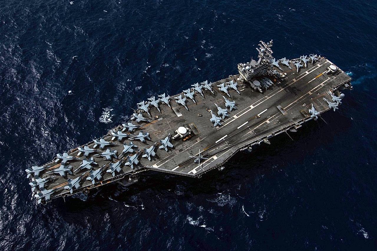 Phản ứng của TQ sau khi chính quyền ông Biden điều 2 tàu sân bay đến Biển Đông tập trận - 1