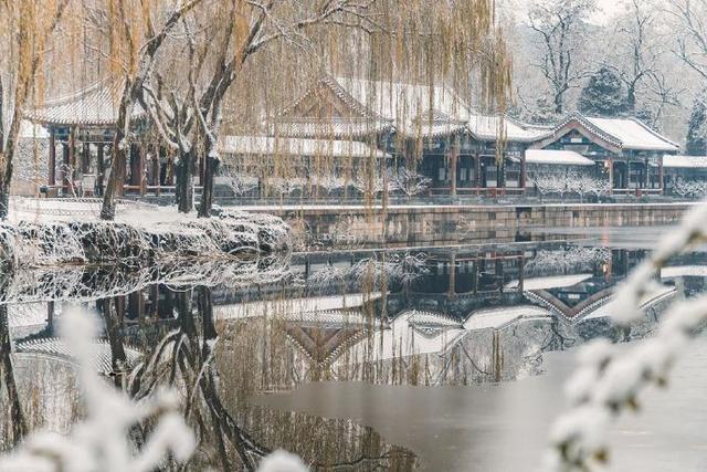 """Khung cảnh tuyết rơi đẹp như tranh vẽ tại """"cung điện mùa hè"""" Di Hòa Viên - 8"""