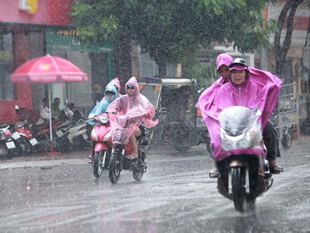 Đợt mưa dông dịp cận Tết ở miền Bắc kéo dài đến bao giờ? - 1