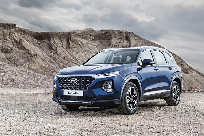Giá xe Hyundai Santa Fe lăn bánh tháng 2/2021 - 1