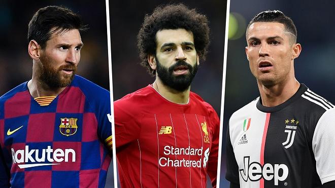 Tin mới nhất bóng đá tối 10/2: Salah được so sánh với Messi và Ronaldo - 1