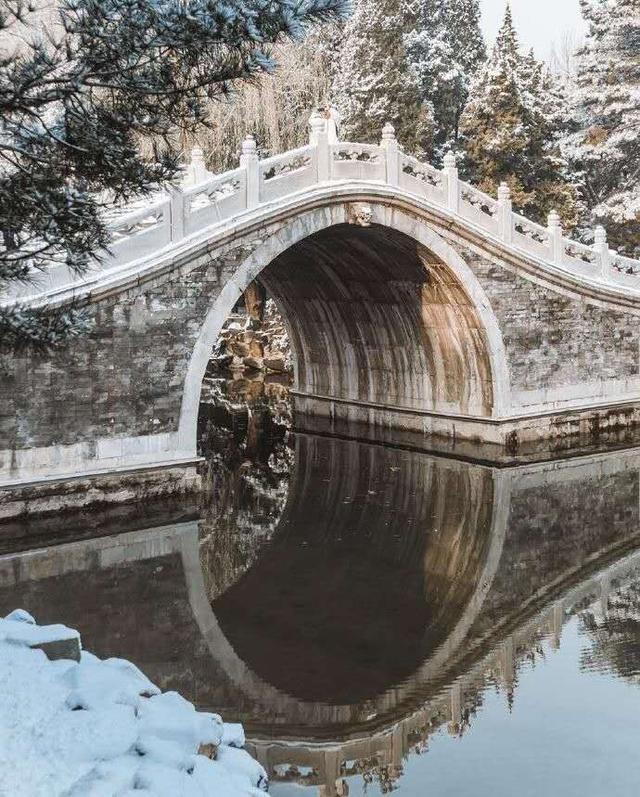 """Khung cảnh tuyết rơi đẹp như tranh vẽ tại """"cung điện mùa hè"""" Di Hòa Viên - 6"""