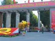 An ninh thắt chặt tại trận địa pháo hoa duy nhất ở Hà Nội dịp Tết Nguyên đán Tân Sửu 2021