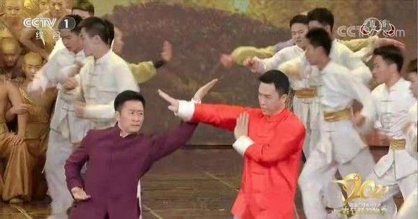 Chân Tử Đan, Ngô Kinh đấu võ mừng năm mới, fan tranh cãi nảy lửa - 1