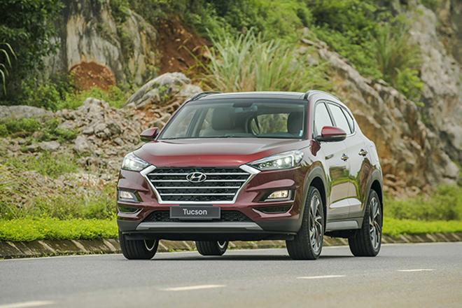 Giá xe Hyundai Tucson lăn bánh tháng 2/2021 - 1
