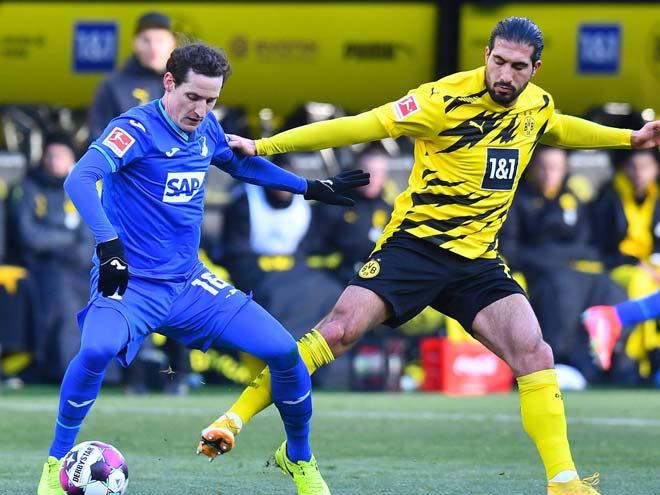 Video Dortmund - Hoffenheim: Sancho mở điểm, Haaland cứu nguy - 1