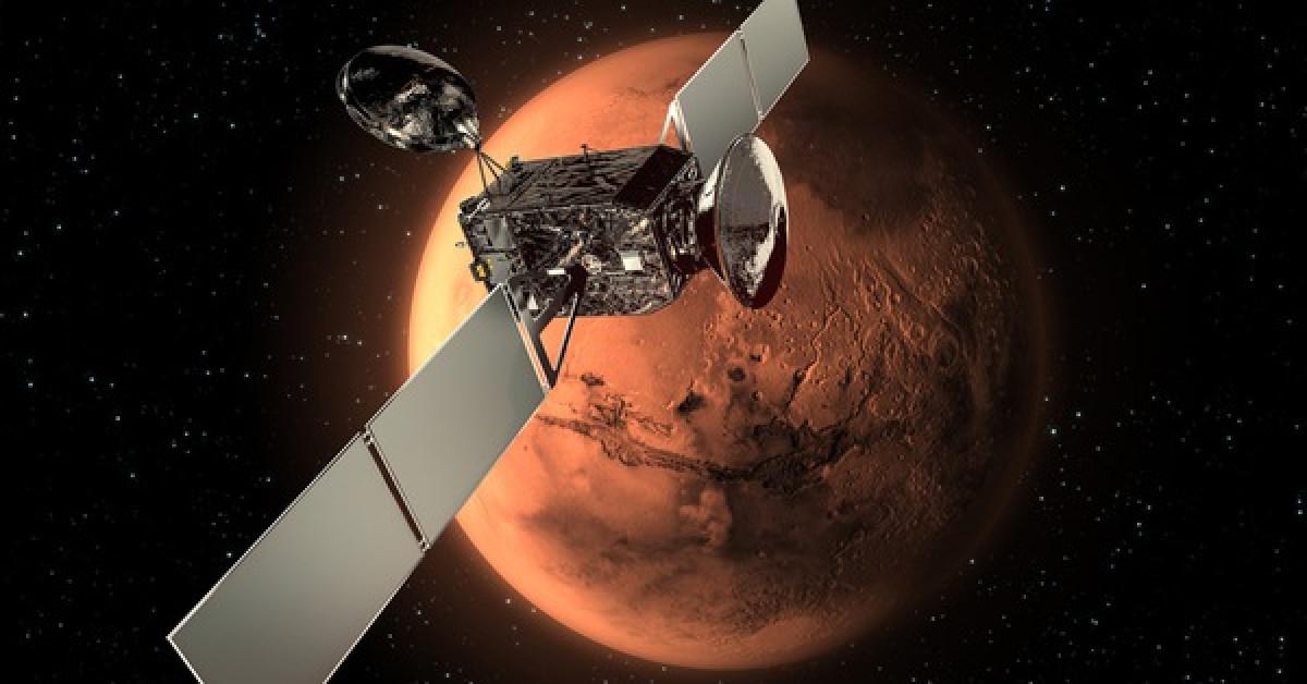 Tàu vũ trụ Nga phát hiện thứ y hệt Trái Đất trên một hành tinh khác - 1
