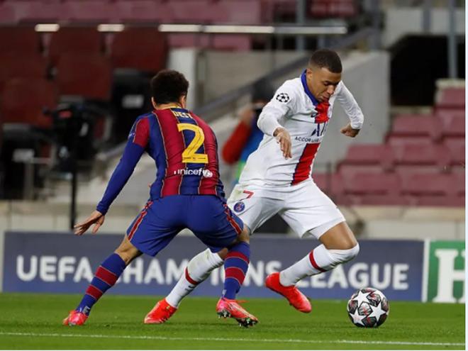 """Barca thua ngược PSG: Báo Tây Ban Nha tố """"gà nhà đá nhau"""", nể sợ Mbappe - 1"""