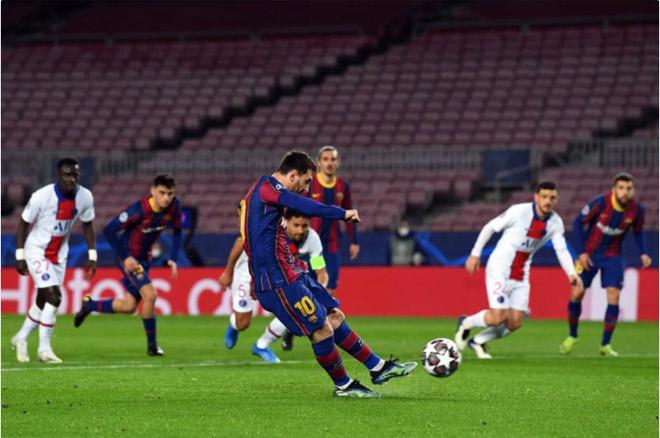 Kết quả bóng đá Cúp C1, Barcelona - PSG: Messi mở điểm, sụp đổ vì Mbappe - 1