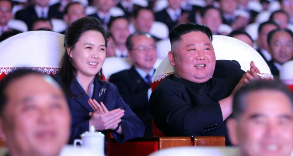 Vợ nhà lãnh đạo Triều Tiên Kim Jong Un tái xuất sau hơn một năm - 1