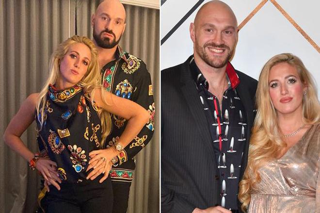 """Vợ đẹp Tyson Fury chửi thề khi mang bầu lần 6, Mayweather """"hốt bạc"""" qua TV - 1"""