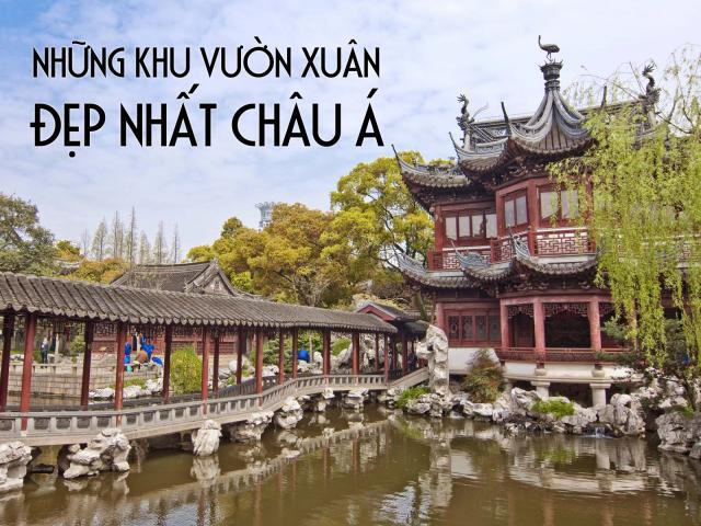 Du lịch - Mùa xuân châu Á cũng khiến du khách say lòng người bởi những cảnh đẹp này