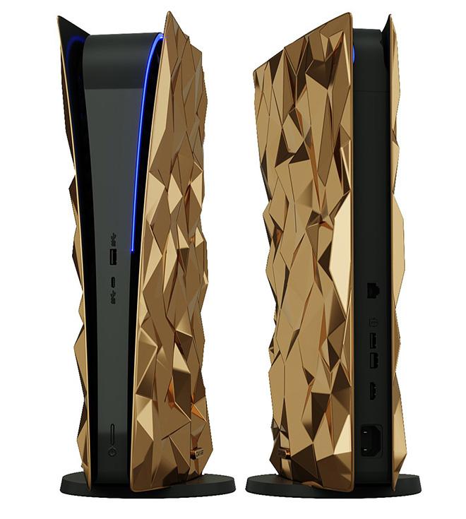Chiếc PlayStation với 4,5 kg vàng giá siêu đắt - 1