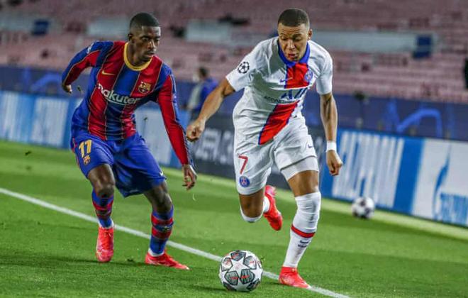"""Barcelona cay đắng vì sai lầm chuyển nhượng: Từ bỏ Mbappe đổi lấy """"bom xịt"""" - 1"""
